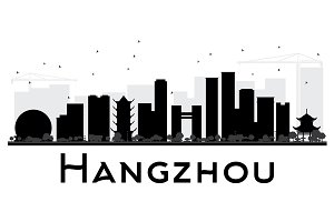 Hangzhou City skyline