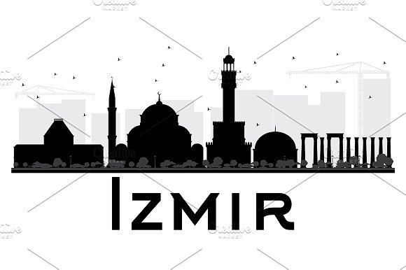 Izmir City Skyline
