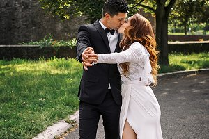 Tango in the green park