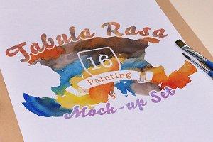 Tabula Rasa: 16 Mock-Ups