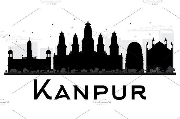 Kanpur City Skyline
