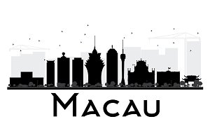 Macau City skyline