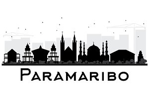 Paramaribo City skyline