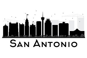 San Antonio City skyline