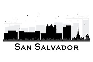 San Salvador City skyline