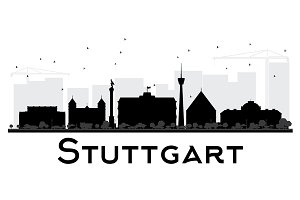 Stuttgart City skyline