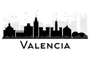 Valencia City skyline