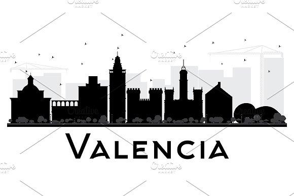 Valencia City Skyline