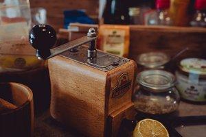 Vintage Kitchen -  Coffee Mill