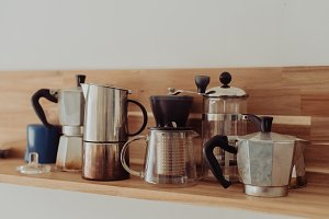 Vintage Kitchen - Coffee Makers