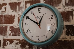 Vintage Kitchen - Wall Clock