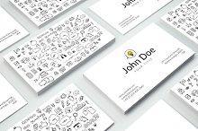 Doodles Business Card