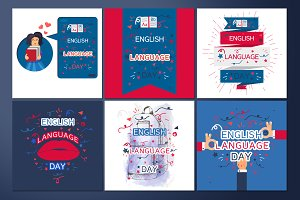 English Language Day Banners