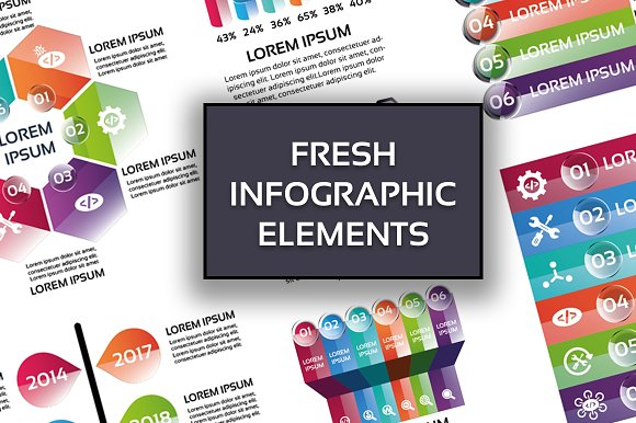 Fresh Infographic Elements