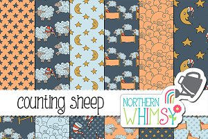 Bedtime Patterns - Counting Sheep