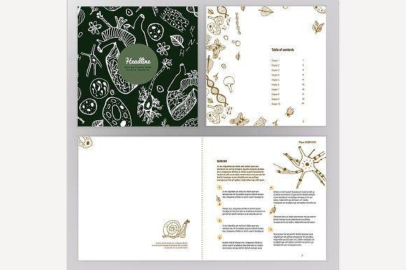 Biology Brochure Design