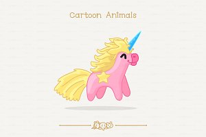 ♥ vector unicorn toy
