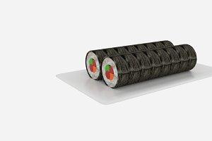 Sushi Roll Slice