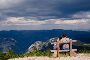 couple travel and relax