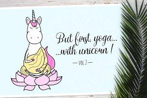 Unicorn's yoga set Vol2