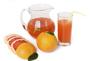 Grapefruit juice and grapefruit