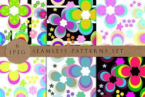 6 Multicolor patterns kids