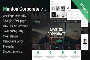 Manton Corporate - Template HTML 5