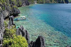 El Nido, Philippines - Tapiutan and Matinloc island