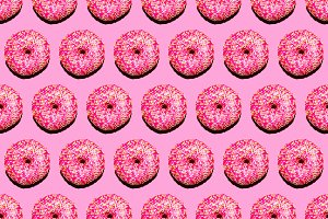 background donut fashion