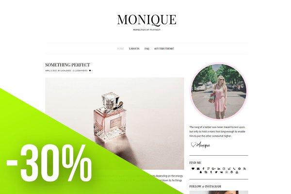 Elegant Wordpress Theme - Monique