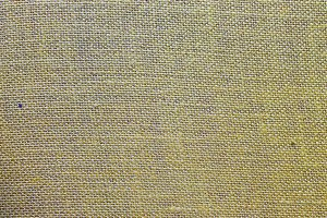 Sackcloth in Green Detail