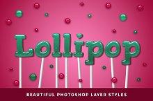 Lollipop | Photoshop Layer Styles