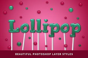 Lollipop | Photoshop Layer Styles