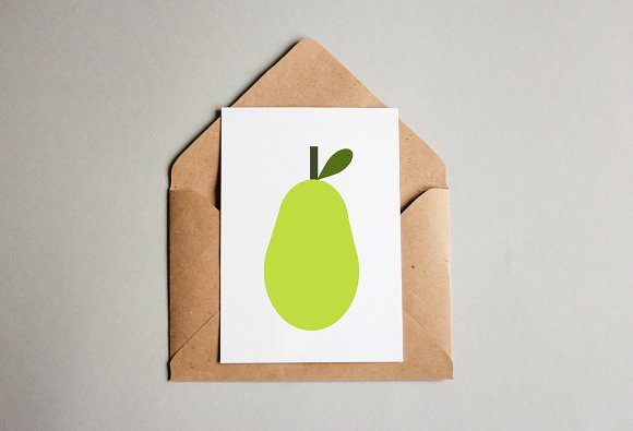 Pear Art Illustration