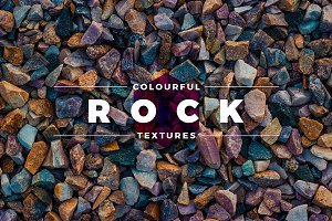 Colourful Rock Textures