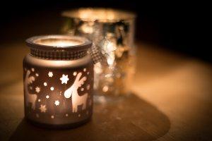 Xmas candle light