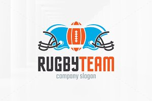 Rugby Team Logo Template