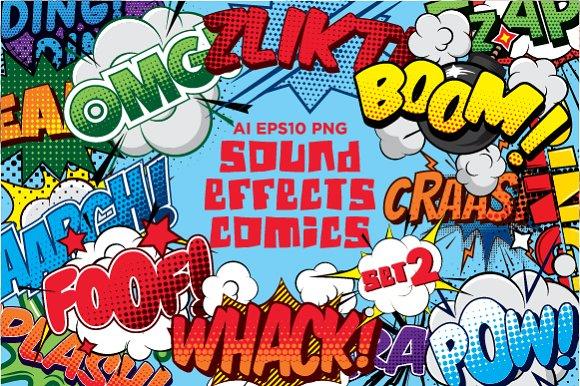Comics Sound Effects Set2