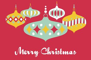 Christmas Greeting Background