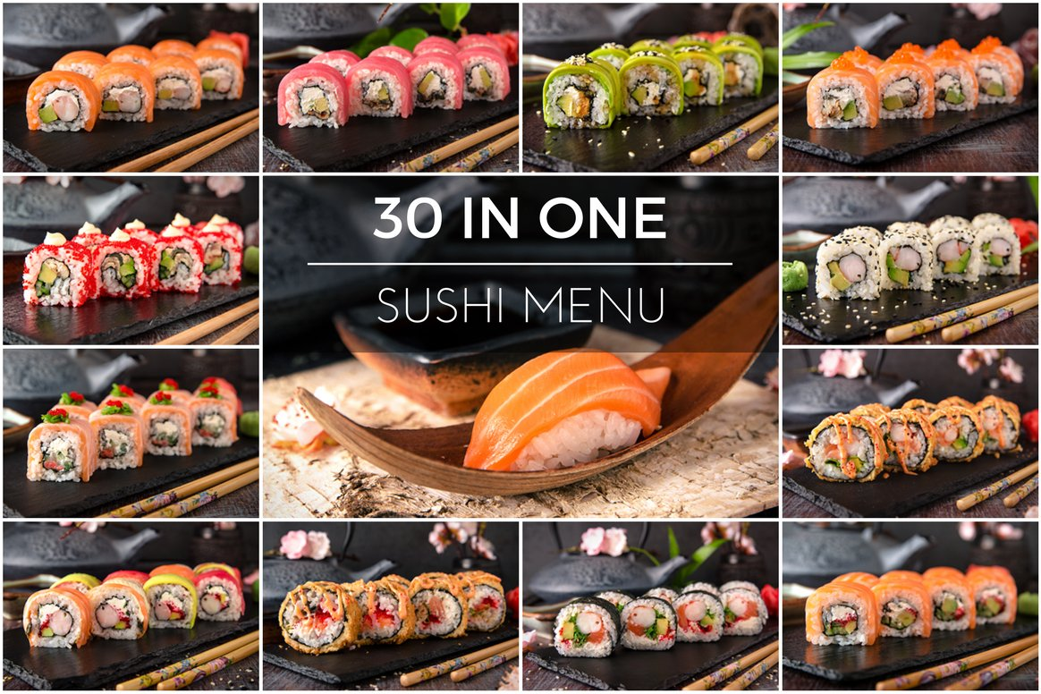 30 Different Types Of Sushi Food Amp Drink Photos