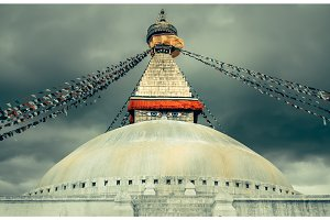 Boudhanath Stupa in the Kathmandu