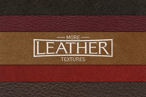 More Leather Texture - 5 Pack