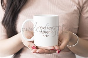 Mug Mockup styled stock photo