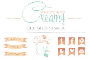 Creamy Bloggin' Pack