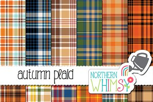 Fall Seamless Plaid