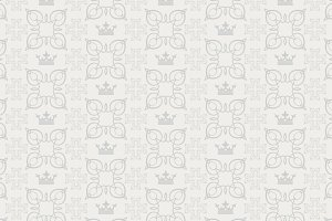 Decorative background in royal style