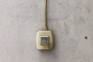 Vintage Switch Detail