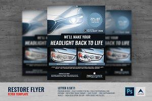 Headlight Restoration Services