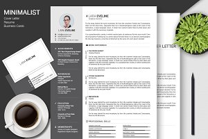 Resume/CV + Business Cards