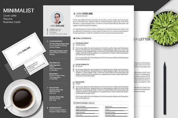Resume CV Business Cards